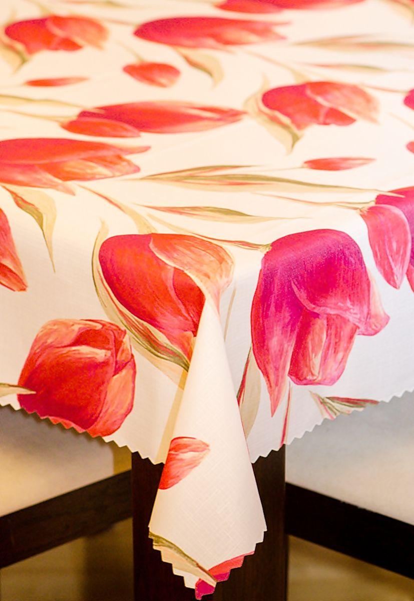 Obrus plamoodporny tulipany - różne rozmiary